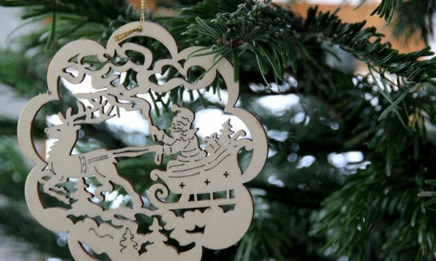 Vánoční stromek jako symbol nadcházejícího období